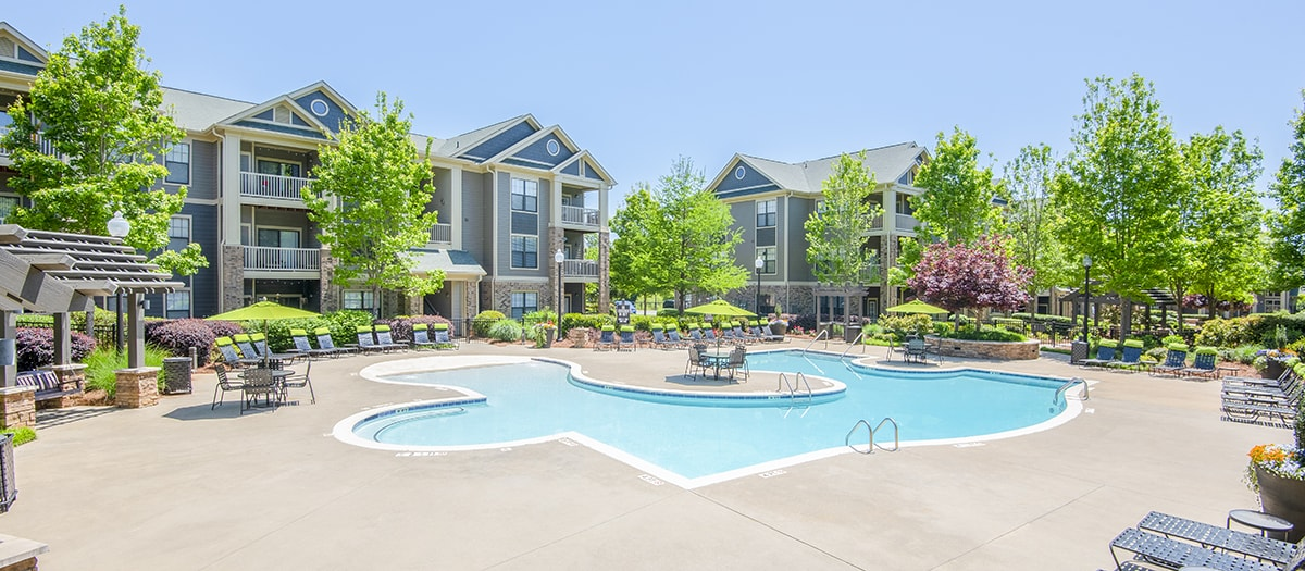 535 Brookwood Apartments In Greenville SC MAA